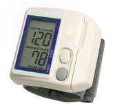 Calibrador de la presión arterial de Digitaces Imagen de archivo