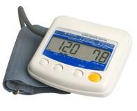 Calibrador de la presión arterial de Digitaces Fotografía de archivo libre de regalías