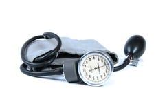 Calibrador de la presión arterial Imagenes de archivo