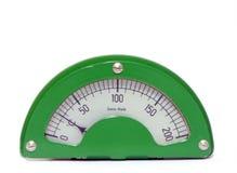 Calibrador de la temperatura fotografía de archivo