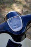 Calibrador de la velocidad de la motocicleta Fotos de archivo