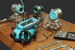 Calibrador de múltiples funciones. Imagen de archivo libre de regalías