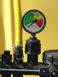 Calibrador de presión Foto de archivo libre de regalías