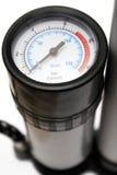 Calibrador de presión de aire (visión cercana) Imágenes de archivo libres de regalías