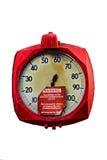 Calibrador de presión viejo Imagenes de archivo