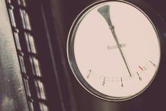 Calibrador de presión viejo Imagen de archivo