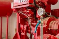 Calibrador de presión viejo Fotografía de archivo