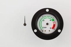 Calibrador de presión Fotos de archivo libres de regalías