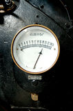 Calibrador de presión viejo Fotos de archivo