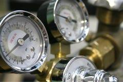Calibrador del CO2 Imagen de archivo libre de regalías