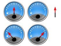 Calibrador del gas Fotografía de archivo libre de regalías