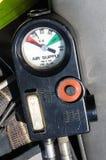 Calibrador del suministro de aire Foto de archivo