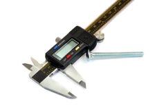 Calibrador electrónico Imagen de archivo