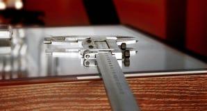 Calibrador o calibrador fotografía de archivo