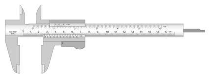 Calibrador a vernier Libre Illustration