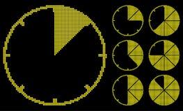 Calibradores del gráfico. Fotografía de archivo libre de regalías