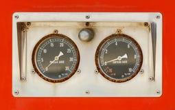 Calibradores viejos Foto de archivo
