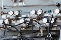 Calibradores y diales Imagen de archivo
