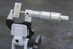 Calibration micrometer Royalty Free Stock Image