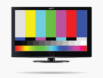 The Calibration TV on screen Royalty Free Stock Photos