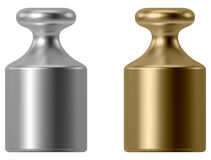 Calibration weight Royalty Free Stock Images