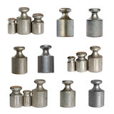 Calibration weights. Royalty Free Stock Photo