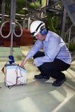 calibrator komórki suchy inżynier Obrazy Royalty Free
