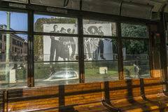 Calibratore per allineamento classico interno a Milano, Italia Fotografia Stock Libera da Diritti