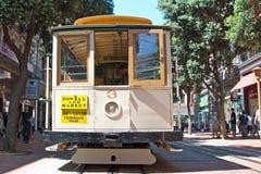 Calibratore per allineamento della cabina di funivia a San Francisco, S.U.A. Fotografia Stock Libera da Diritti