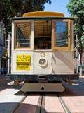 Calibratore per allineamento della cabina di funivia a San Francisco, S.U.A. Immagini Stock
