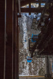 Calibratore per allineamento di Airial del cancello dell'inferno Fotografia Stock