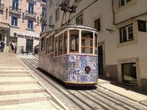 Calibratore per allineamento giallo di Lisbona Fotografie Stock Libere da Diritti