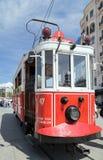 Calibratore per allineamento rosso dell'annata a Costantinopoli Fotografie Stock Libere da Diritti