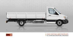 Calibre à plat de camion Photographie stock libre de droits
