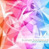 Calibre élégant de design de carte d'affaires Photographie stock libre de droits