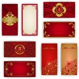Calibre élégant pour l'invitation de luxe de VIP Photos stock