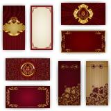 Calibre élégant pour l'invitation de luxe de VIP Image stock
