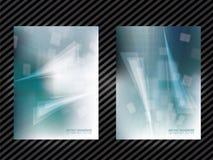 Calibre abstrait bleu de fond Images libres de droits