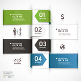 Calibre abstrait d'infographics d'affaires. Images stock