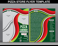 Calibre abstrait d'insecte de magasin de pizza Photographie stock libre de droits