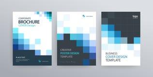 Calibre abstrait de conception de couverture d'affiche pour la brochure, insecte, magazine, rapport annuel  illustration stock