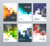 Calibre abstrait de conception de couverture d'affiche pour la brochure, insecte, magazine, rapport annuel, illustration de vecteur