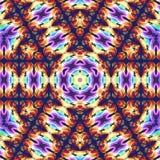 Calibre abstrait de conception de mandala illustration de vecteur