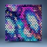 Calibre abstrait de couleur illustration de vecteur