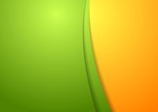Calibre abstrait lumineux onduleux de conception Images libres de droits