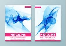 Calibre abstrait moderne de brochure, de rapport ou de conception d'insecte Photographie stock