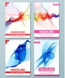 Calibre abstrait moderne de brochure, de rapport ou de conception d'insecte Photos stock