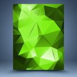 Calibre abstrait vert illustration libre de droits