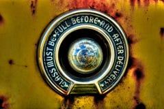 Calibre antigo da bomba de gás Imagem de Stock