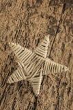 Calibre avec l'étoile en bois Photos libres de droits